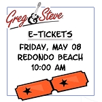 10:00AM - Fri, May 8  E-TICKETS