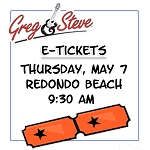 9:30AM - Thurs, May 7  E-TICKETS