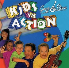 Kids in Action CD