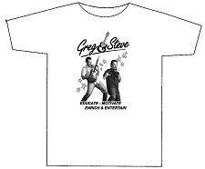 Greg & Steve T-Shirt - White